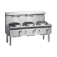 Cobra CW3H 1800mm Gas Waterless Wok (with 3 Duckbill burners or chimneys)