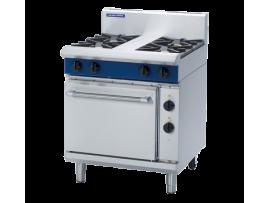 4 Burner Electric Static Oven 750mm (Blue Seal GE505D)