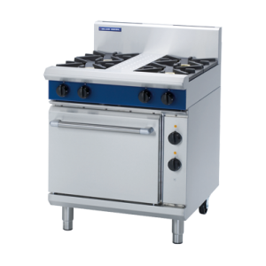 4 Burner Electric Static Oven 750mm (Blue Seal GE505D)