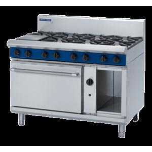 8 Burner Static Gas Oven 1200mm (Blue Seal G508D)