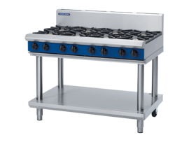 Cooktop 1200mm Leg Stand Gas D/C/B/A G518D-LS Blue Seal Moffat