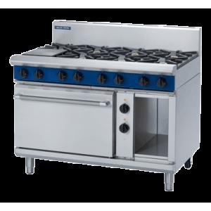 8 Burner Electric Static Oven 1200mm (Blue Seal GE508D)
