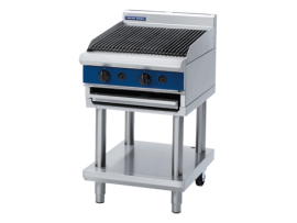 Chargrill 600mm Leg Stand Gas G594-LS Blue Seal Moffat