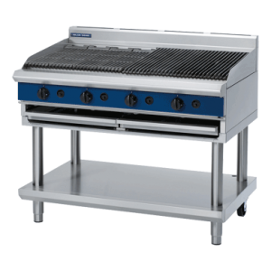 Gas Chargrill 1200mm on Leg Stand (Blue Seal G598-LS)