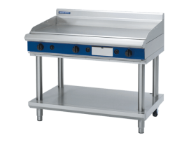 Blue Seal Evolution Series Gas Griddle 1200mm Leg Stand Moffat