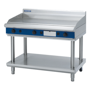 Gas Griddle 1200mm with Leg Stand (Blue Seal GP518-LS)