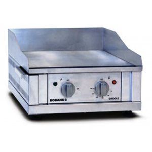 Griddle 400 x 400 smooth plate 10amp Roband