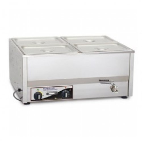 Roband Bain Marie with 4 1/2 pans+lids