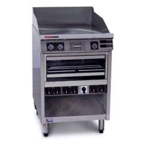 Austheat Griddle/Toaster, Floor model, 3 Ph, 12.8kW,