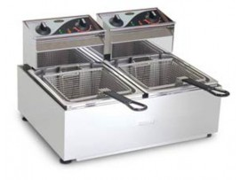 Double Pan Fryer 2 x 5 Litres F25 Roband