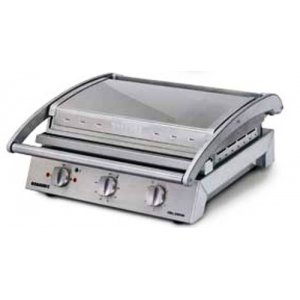 Grill Station 8 Sandwich Teflon Coated Smooth Plate 15 amp Roband GSA815ST