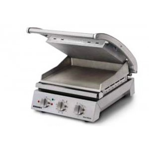 Grill Station 6 Sandwich Teflon Coated Smooth Plate Roband GSA610ST