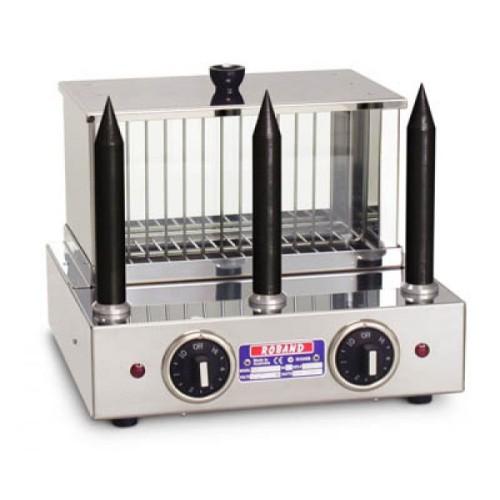 Hot Dog and Bun Warmer 3 Teflon spikes Roband M3T