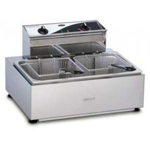 Single Pan Double Basket Fryer F111 Roband
