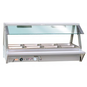 Hot Food Bar Sneeze Guard Straight Glass E-SNZ22 Roband
