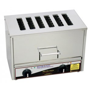 Vertical Toaster 6 Slice Roband TC66