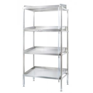 1200mm Defrost Adjustable Stainless Steel 4 Tier Shelving Simply Stainless