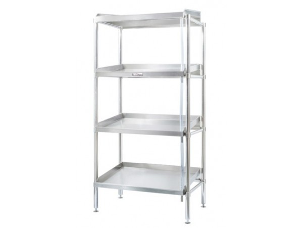 900mm Defrost Adjustable Stainless Steel 4 Tier Shelving Simply Stainless