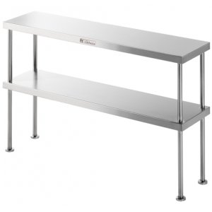 Double Bench Over Shelf Stainless Steel SS13.2100 Simply Stainless