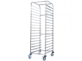 Mobile Gastronorm Rack Trolley SS16.1/1 Simply Stainless