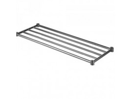 Under Shelf Piped Pot Rack 1200mm long Simply Stainless 600 series