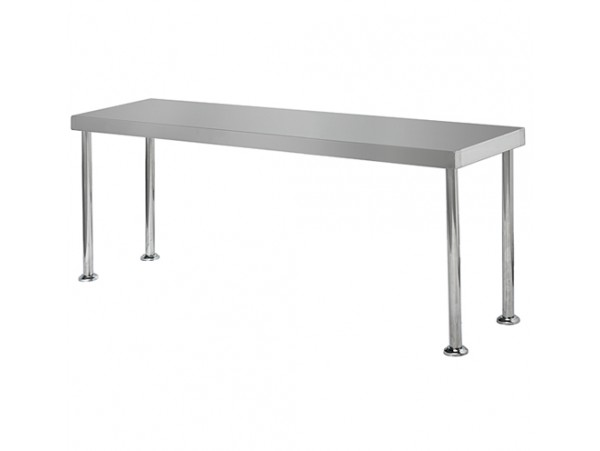 Bench Over Shelf Stainless Steel SS12.1800 Simply Stainless