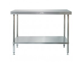 SS01-1500LB Stainless Steel 600 Series Work Bench with Leg Brace Simply Stainless