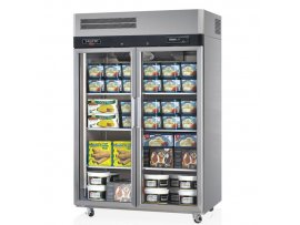 Skipio TurboAir Double Glass Door Freezer 1215L