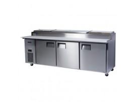 3 Door BC240-P Centaur Pizza Counter Chiller Skope