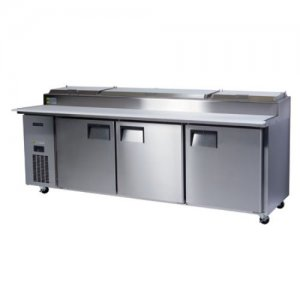 3 Door BC240-P Centaur Pizza Counter Chiller Skope