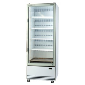 Activecore Glass Door Display Chiller Bottom Mount White BME600-A Skope
