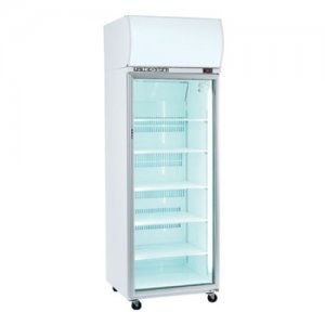 One Glass Door Upright Chiller White 740mm Wide SK-2 Series Skope