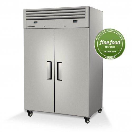 SKOPE Reflex 2 Solid Door Fridge & Freezer