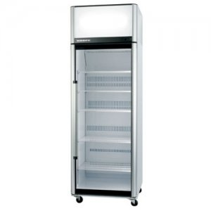 One Glass Door Upright Chiller Stainless Steel 740mm Wide SK-2 Series Skope