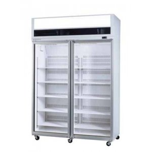 VF Series VF1300 Display Freezer Top Mount Wide Model Two Glass Door Skope