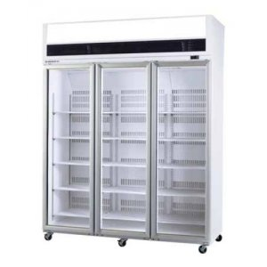 VF Series VF1500 Display Freezer Top Mount Three Glass Door Skope