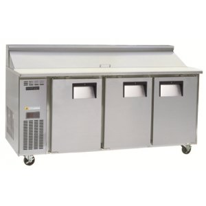 3 Door Centaur Sandwich Prep Counter Chiller BC180 Skope