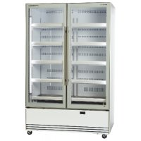 Activecore 2 Glass Doors Display Chiller Bottom Mount White BME1200-A Skope