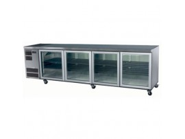 4 Solid Door White Under Counter Chiller Deeper Model CL800 Skope