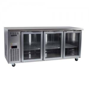 Centaur Underbench Chiller 3 Glass Doors 1800 wide Skope
