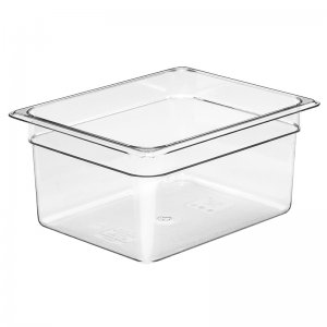 Gastronorm Polypropolene Pan 1/2 Size 200mm Clear