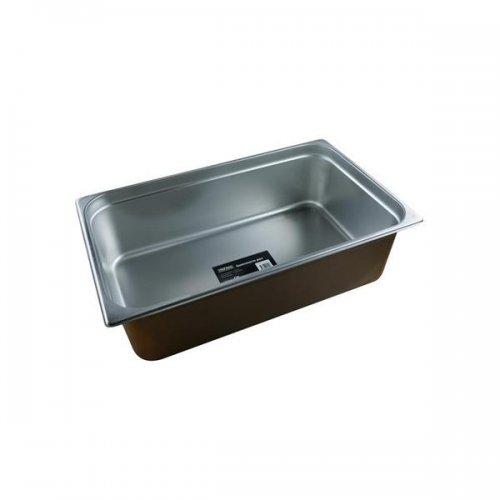 Chef Inox Anti-Jam Steam Pan 1/1 Size150mm