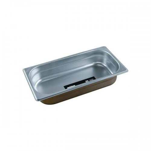Chef Inox Anti-Jam Steam Pan 1/3 Size 65mm