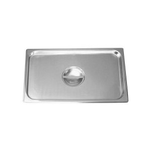 Chef Inox Anti-Jam Steam Pan Cover 1/1 Size