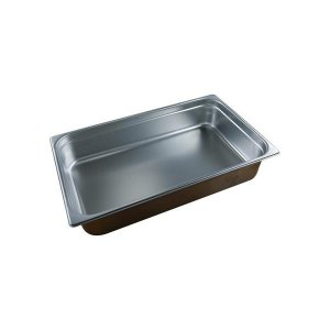 Chef Inox Anti-Jam Steam Pan 1/1 Size 100mm