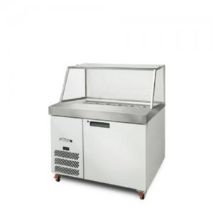 White Banksia One Door Prep Counter Williams HSP18UBA 250 Litres