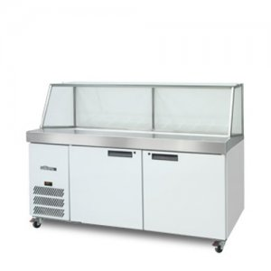 White Banksia Two Door Prep Counter Williams HSP30/5UBA 500 Litres