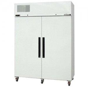 White Diamond Star Two Solid Door Fridge Williams
