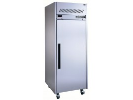 Stainless Steel Diamond Star One Solid Door Fridge Williams HDS1SDSS