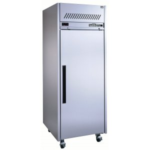 Stainless Steel Diamond Star One Solid Door Fridge Williams